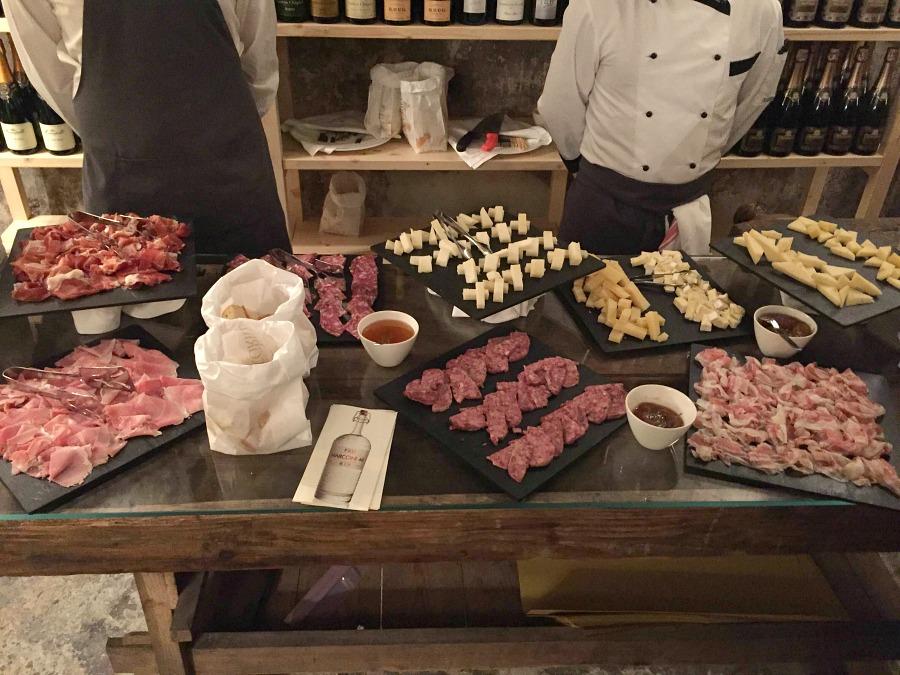 Salumi e formaggi Nordic Grill