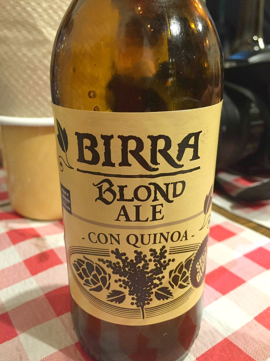 Birra alla quinoa