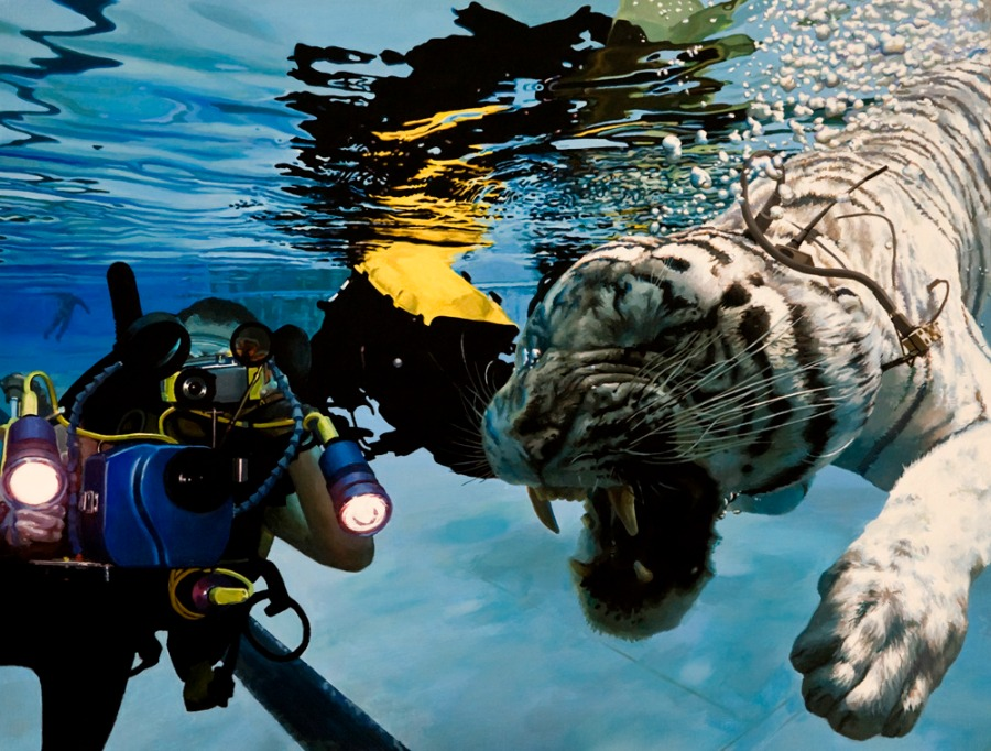 Caleb Brown, Tiger Diver 1