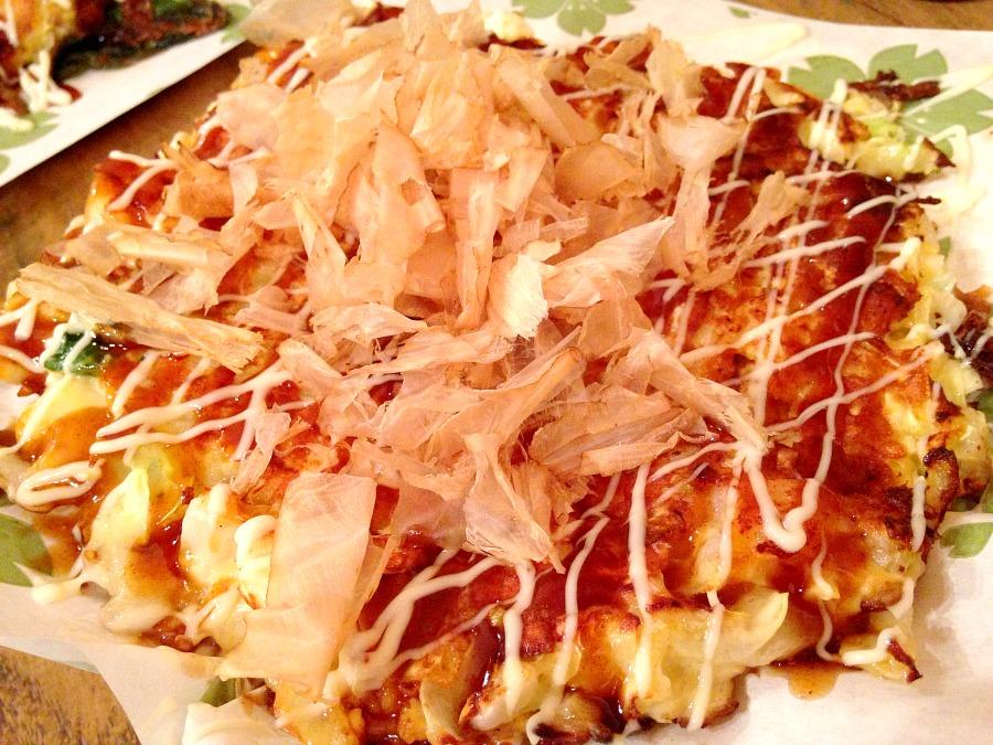 Okonomiyaki ai gamberi