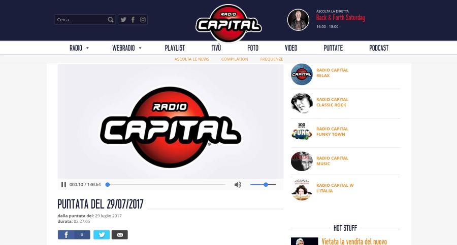 Radio Capital Uomo Senza Tonno