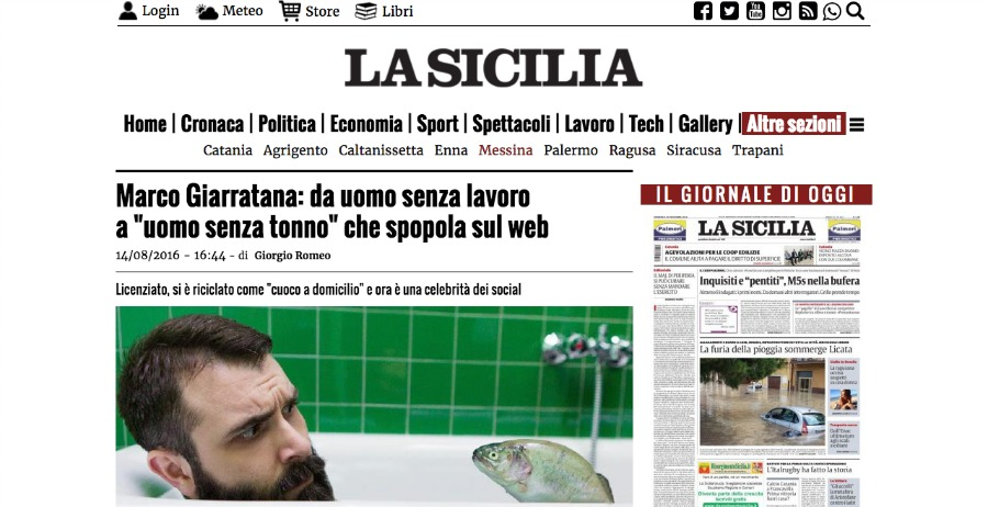 La Sicilia uomo senza tonno