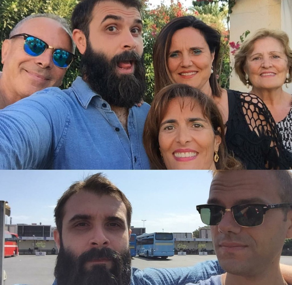 Carmelo, Sabrina, Simona, Anna (Ognina di Siracusa-Noto, 11-13 agosto 2016) / Filippo (Riposto, 8-10 agosto 2016)
