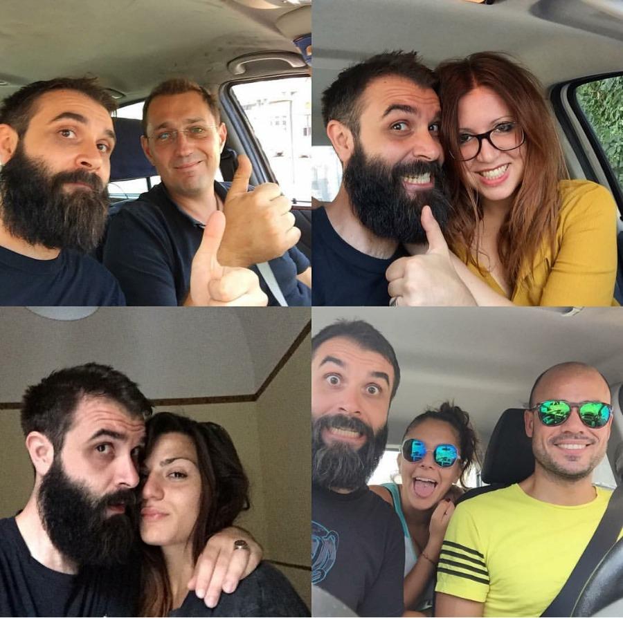 Pietro, che mi ha dato un passaggio mentre facevo autostop (Mascalucia, 5 agosto 2016) / Simona, che mi ha dato un passaggio (Catania, 5 agosto 2016) / Alessia (Catania, 5 agosto 2016) / Elisabetta e Alessio (Siracusa, 6-7 agosto 2016)