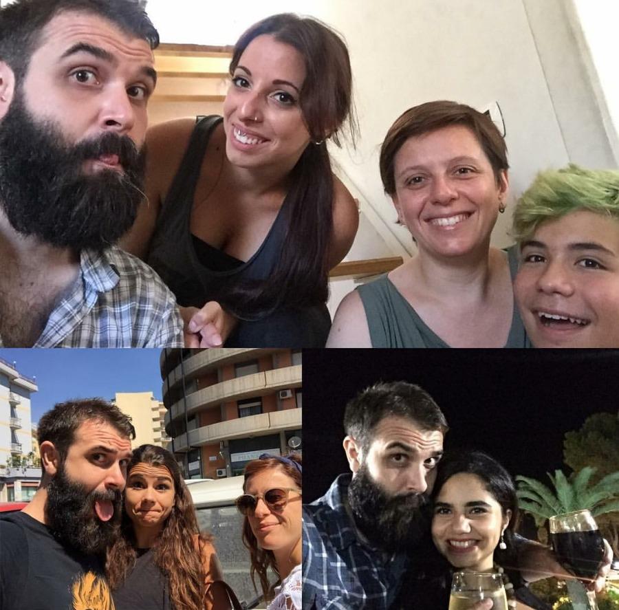 Roberta, Giusi, Tommaso (Catania, 1-2 agosto 2016) / Cristina e Mariavittoria (Catania, 3 agosto 2016) / Giuliana (Gravina di Catania, 4 agosto 2016)