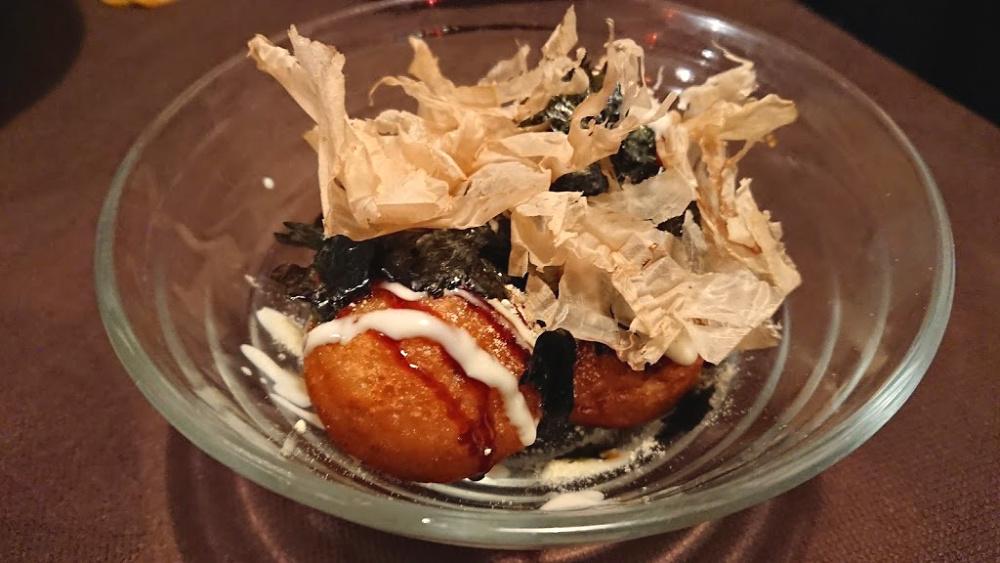 Takoyaki polpette di polpo giapponesi